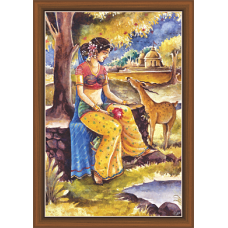 Rajsthani Paintings (R-9506)