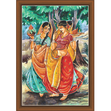 Rajsthani Paintings (R-9507)