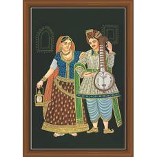 Rajsthani Paintings (R-9512)