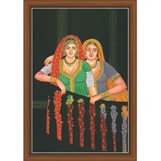 Rajsthani Paintings (R-9513)