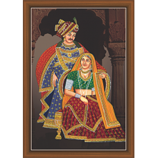 Rajsthani Paintings (R-9514)