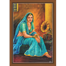 Rajsthani Paintings (R-9522)
