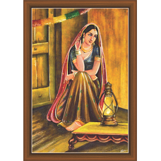 Rajsthani Paintings (R-9523)
