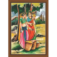 Rajsthani Paintings (R-9525)