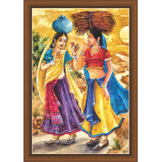Rajsthani Paintings (R-9528)