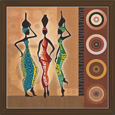 African Modern Art Paintings (AS-7922)