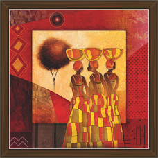 African Modern Art Paintings (AS-7923)