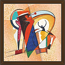 African Modern Art Paintings (AS-7926)