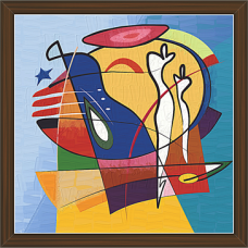 African Modern Art Paintings (AS-7928)