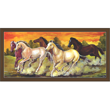 Horse Paintings (HH-3495)