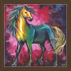 Horse Paintings (HS-3393)