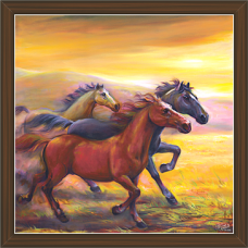 Horse Paintings (HS-3394)