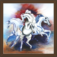 Horse Paintings (HS-3398)